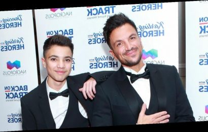 Peter Andre reveals how many fans have named their children after his son Junior