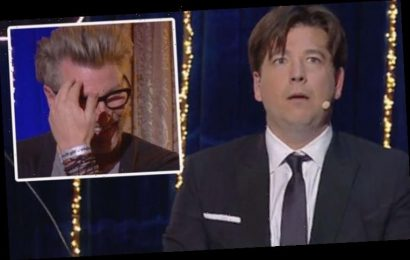 Michael McIntyre horrified as he makes X-rated discovery about Robbie Savage: 'What?'