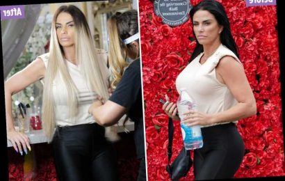 Katie Price looks totally different after hair transformation and says she's making 'big life changes'