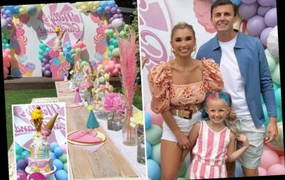 Inside Billie Faiers amazing candy land party for daughter Nelly Shepherd's 6th birthday