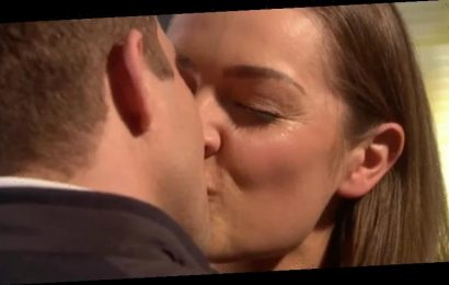 Hollyoaks' Warren and Sienna set for steamy affair after shock kiss