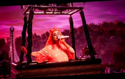 Katy Perry Delivers Final Performance Before Giving Birth (Watch)