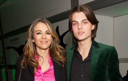 Elizabeth Hurley's Son Damian Is Mom's Lookalike in Sexy New Pics