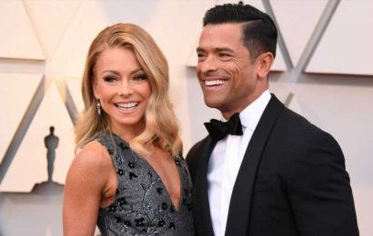 Kelly Ripa Has a Genius Plug for Mark Consuelos' Netflix Series