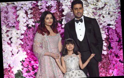 Bollywood superstar Aishwarya Rai Bachchan and young daughter test positive for coronavirus