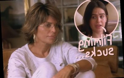 Lisa Rinna's Daughter Reveals She's 'Forced To Be On' <i>RHOBH</i> Against Her Wishes!