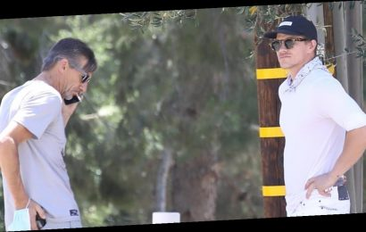 Naya Rivera's Ex Ryan Dorsey Visits Lake Piru with Her Dad George After Body Found During Search