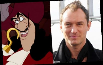 Jude Law to Bring Captain Hook to Life in New Peter Pan Movie