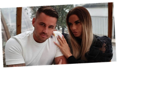 Katie Price gushes over boyfriend Carl Woods and says he's taught her she 'doesn't need to crave attention'