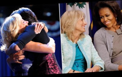 Michelle Obama and Jill Biden's Cute Friendship Is Unmatched — Sorry, Barack and Joe!