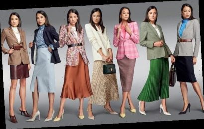 Skirt suits to mix & match: The new 'soft' power dressing