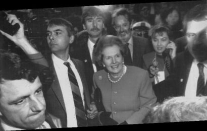 From the Archives, 1988: Margaret Thatcher jostled, pushed in Melbourne