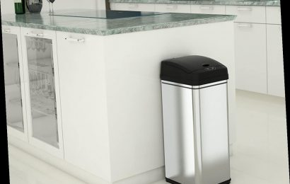The CDC is Recommending These Touchless Trash Cans to Help Curb the Spread of COVID