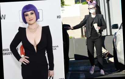Kelly Osbourne looks 'unrecognizable' after dramatic 85-pound weight loss transformation