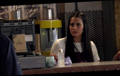 Coronation Street spoilers: Alya Nazir smashes up Speed Daal after Geoff abuses her to hurt her grandmother Yasmeen