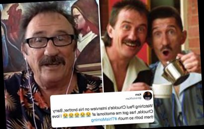 This Morning fans in tears as Paul Chuckle opens up about his brother's death saying Barry hid that he was ill