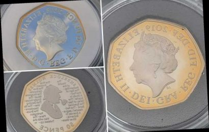 Coin collectors' fury as £55 silver coins turn BROWN