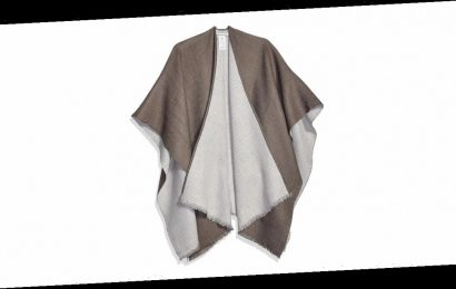 You Seriously Won't Believe the Price of This Reversible Poncho