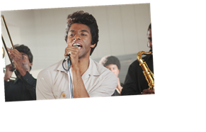 'Get On Up' Director Shares Set Stories of Chadwick Boseman's James Brown Method Acting