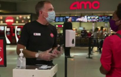 AMC's reopened theaters sold out almost everywhere, CEO says