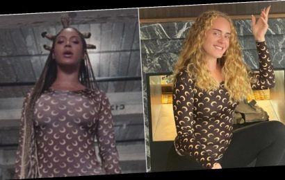 Adele Twinned With Beyoncé to Show Her Love for 'Black Is King'