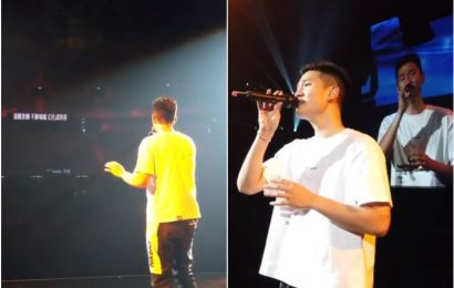 Mandopop singer Eric Chou holds first post-pandemic concerts in Taiwan, draws 33,000