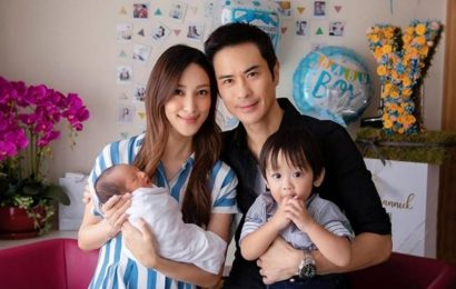 Hong Kong celebrity couple Kevin Cheng and Grace Chan welcome second child