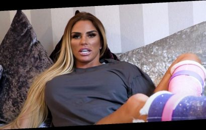 Katie Price says her feet look like something out of the movie Saw after surgery