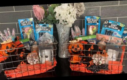 Mum's £12 DIY Halloween baskets make the day fun even without trick-or-treating