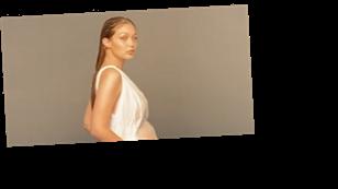Gigi Hadid flaunts growing baby bump as she shares pregnancy milestone