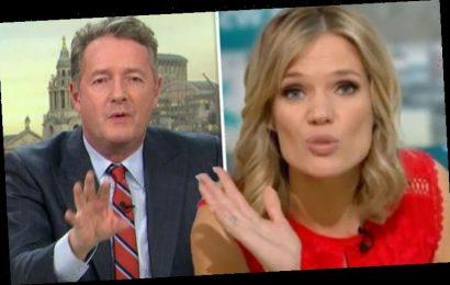 Charlotte Hawkins: GMB star in swipe at Piers Morgan as presenter returns to ITV show