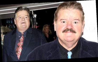 Robbie Coltrane speaks out in a rare admission about his 'steady' girlfriend of 12 years