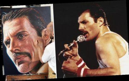 Freddie Mercury: Derren Brown on capturing 'EXTRAORDINARY' Queen singer in new painting
