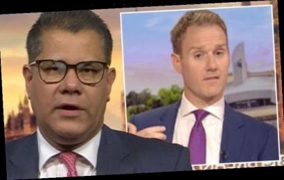 Dan Walker scolds Sharma over 'embarrassing' Boris Johnson mishap 'He didn't know?'