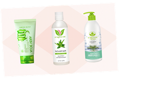 For Soothing Self Care, These Aloe Vera Gels Have *So* Many Benefits For Your Skin & Hair