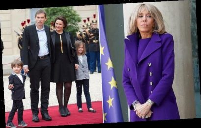 French First Lady Brigitte Macron talks about birth of her first son