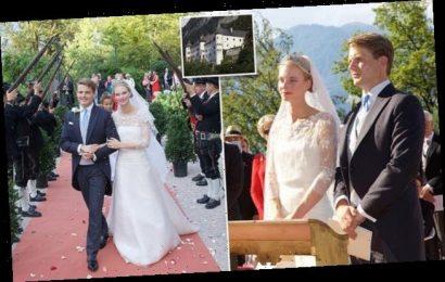 Prince Henri of Bourbon-Parma marries Archduchess Gabriella of Austria