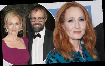 JK Rowling offers rare insight into marriage to husband Neil Murray