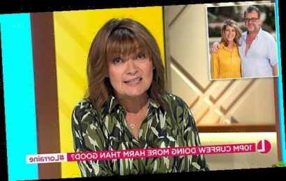 Lorraine Kelly FUMES at anti-lockdown protesters