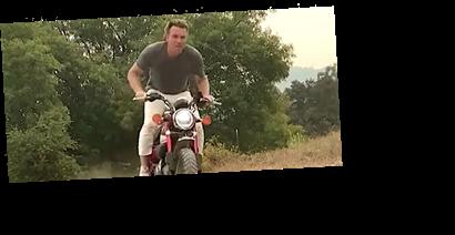 Ewan McGregor Attempts Obi-Wan Kenobi Motorcycle Stunt On 'Tonight Show'