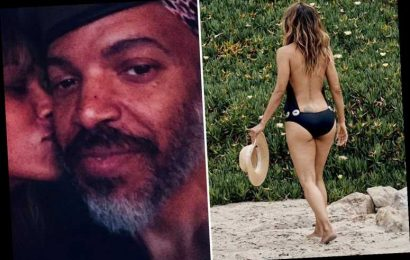 Halle Berry, 54, stuns in backless swimsuit after revealing identity of mystery boyfriend