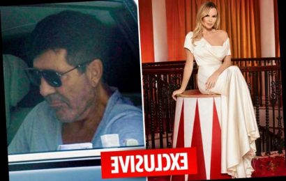 Amanda Holden reveals she feared pal Simon Cowell was going to die from horror bike accident