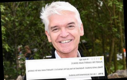 Phillip Schofield's wine branded 'overpriced' and 'bitter' in scathing reviews by disappointed customers