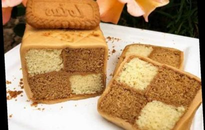 This Biscoff Battenberg Recipe Is Also Entirely Vegan