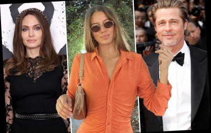 Brad Pitt's new girlfriend slams claim she 'hates' Angelina Jolie