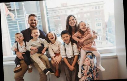 Couple Who Went from 0 to 9 Kids in 3 Years Says Life Is 'Definitely Chaotic & Definitely Beautiful'