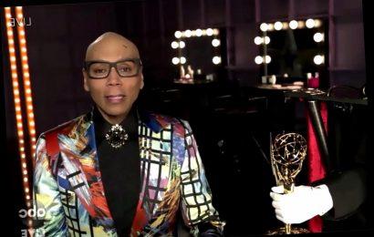 RuPaul Dedicates Emmy to Late Drag Race Star Chi Chi DeVayne, Left Out of Primetime In Memoriam