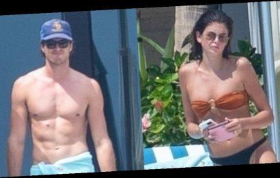 Jacob Elordi & Girlfriend Kaia Gerber Soak Up the Sun Together on Vacation
