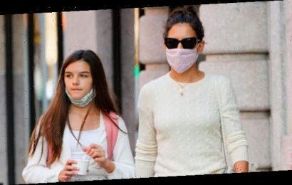 Katie Holmes & Daughter Suri Cruise, 14, Grab Food In NYC After Actress' PDA Date With Emilio Vitolo