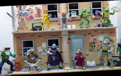 Cool Stuff: 'Teenage Mutant Ninja Turtles' Animated Series Action Figure Diorama Set